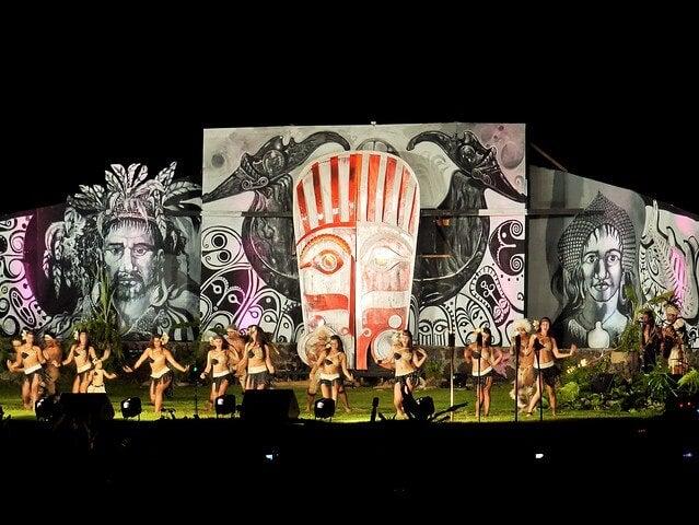 Escenario del Tapati Rapa Nui