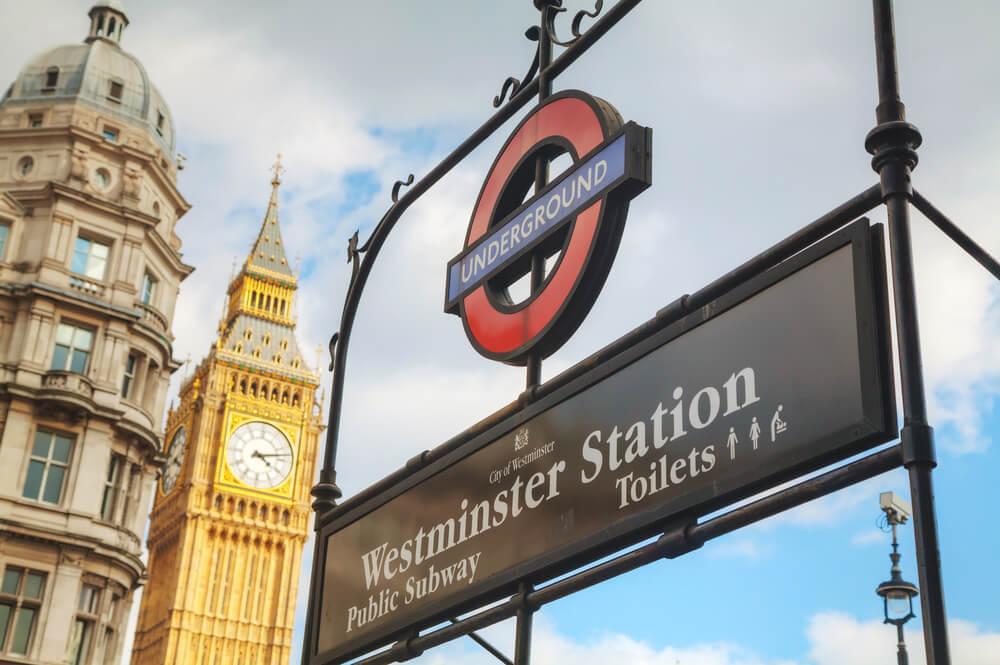 Funcionamiento del metro de Londres en tiempo real