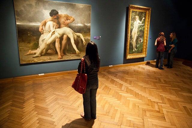 Exposición en el Museo Nacional de Bellas Artes
