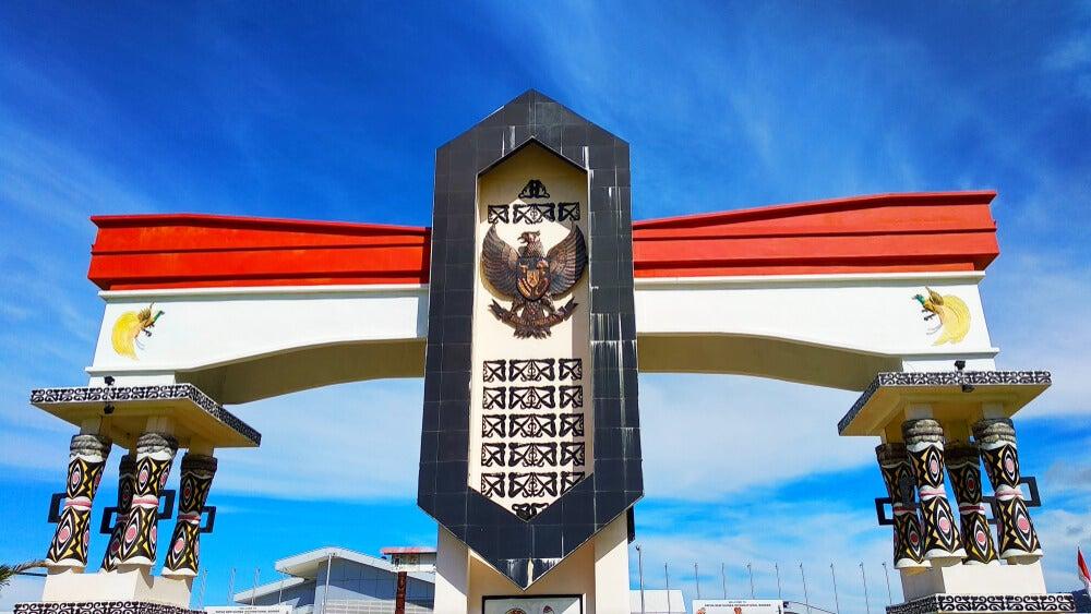 La frontera entre Indonesia y Papúa Nueva Guinea
