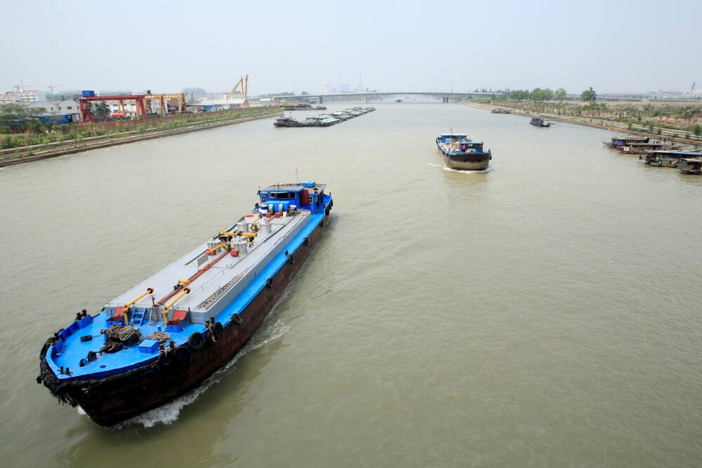 Gran Canal de China en Yangzhou