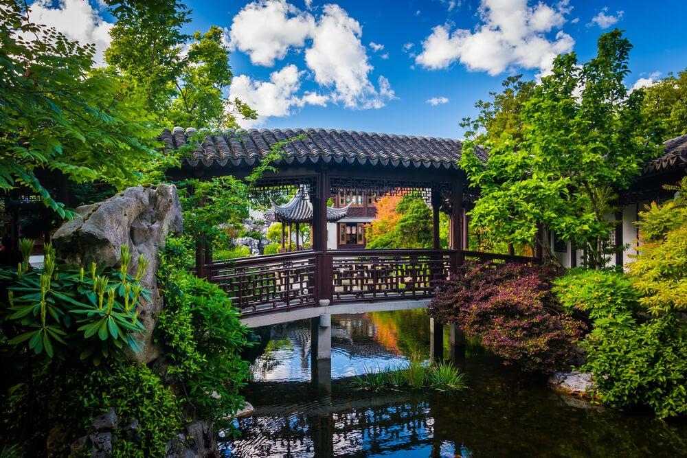 La arquitectura del jardín chino, un elemento clave