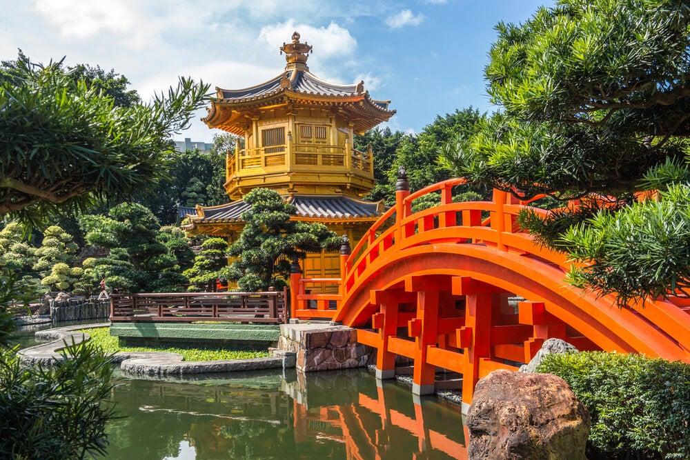 Jardín Nan Liang en Hong Kong