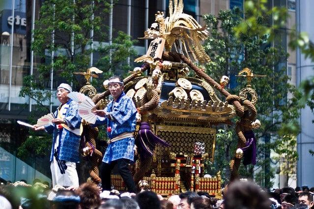 Kanda Matsuri, uno de los matsuri más famosos