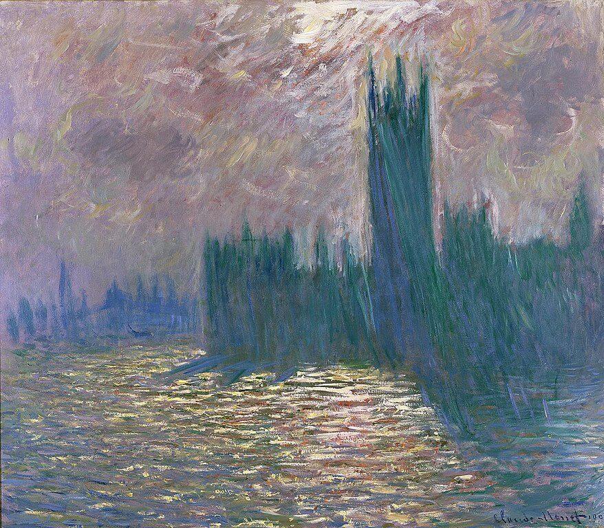 'Londres, el Parlamento' de Monet