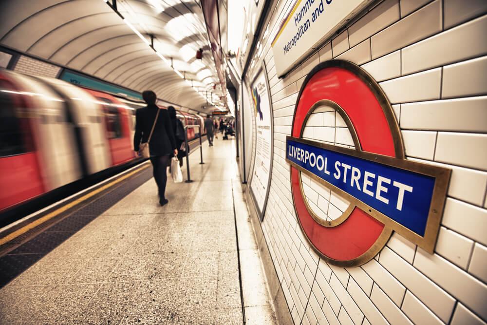 Estación del metro de Londres