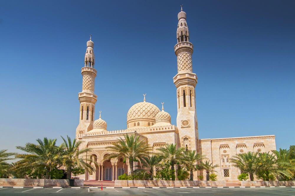 Mezquita en Dubái