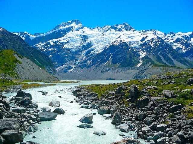 Vista del Mount Cook