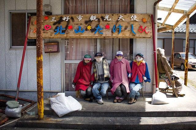 Nagoro en Japón: la aldea de los muñecos
