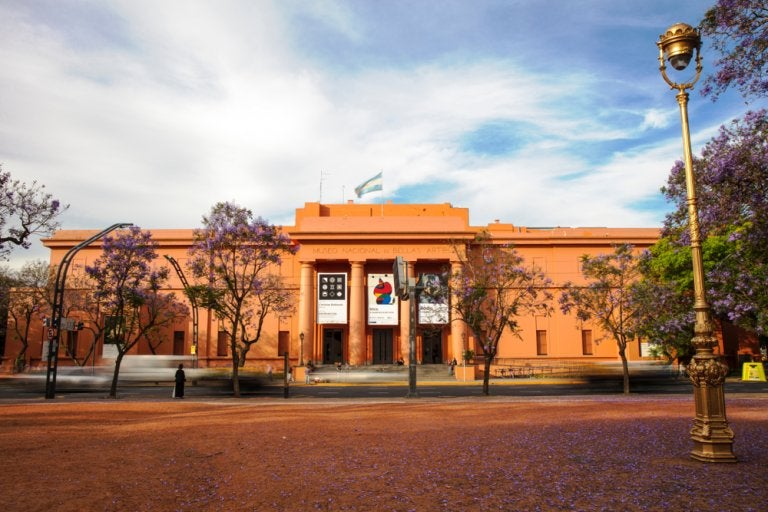 El Museo Nacional de Bellas Artes de Buenos Aires