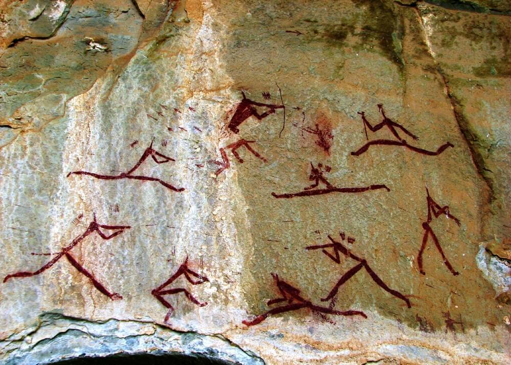 El parque Ukhahlamba-Drakensberg y sus pinturas rupestres