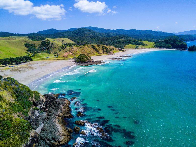 Disfruta de las mejores playas de Nueva Zelanda