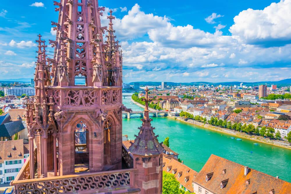 Vista del Rhin desde la catedral
