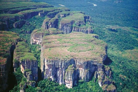 La Serranía de Chiribiquete, un viaje a otra dimensión