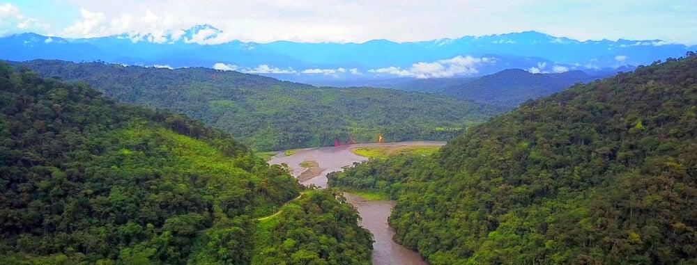 Vista del Parque Nacional del Manu