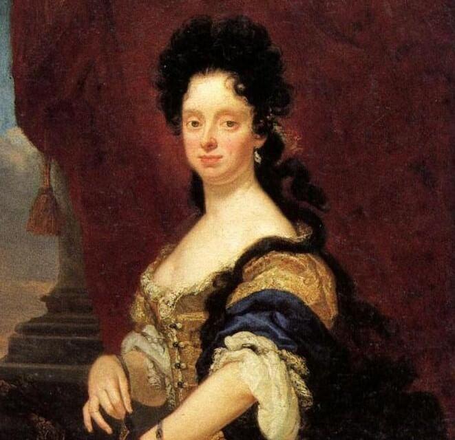 Retrato de Ana María Luisa de Médici