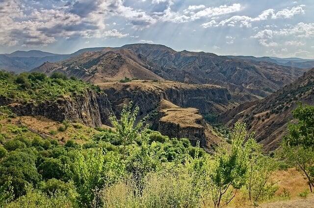Paisaje de Armenia