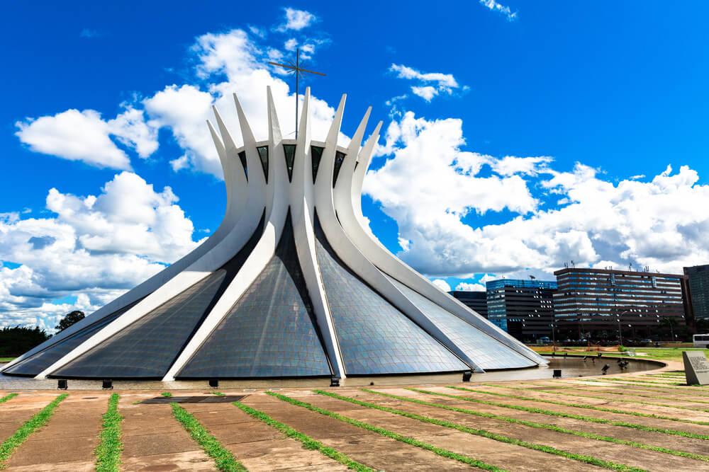 La catedral de Brasilia: un diseño único