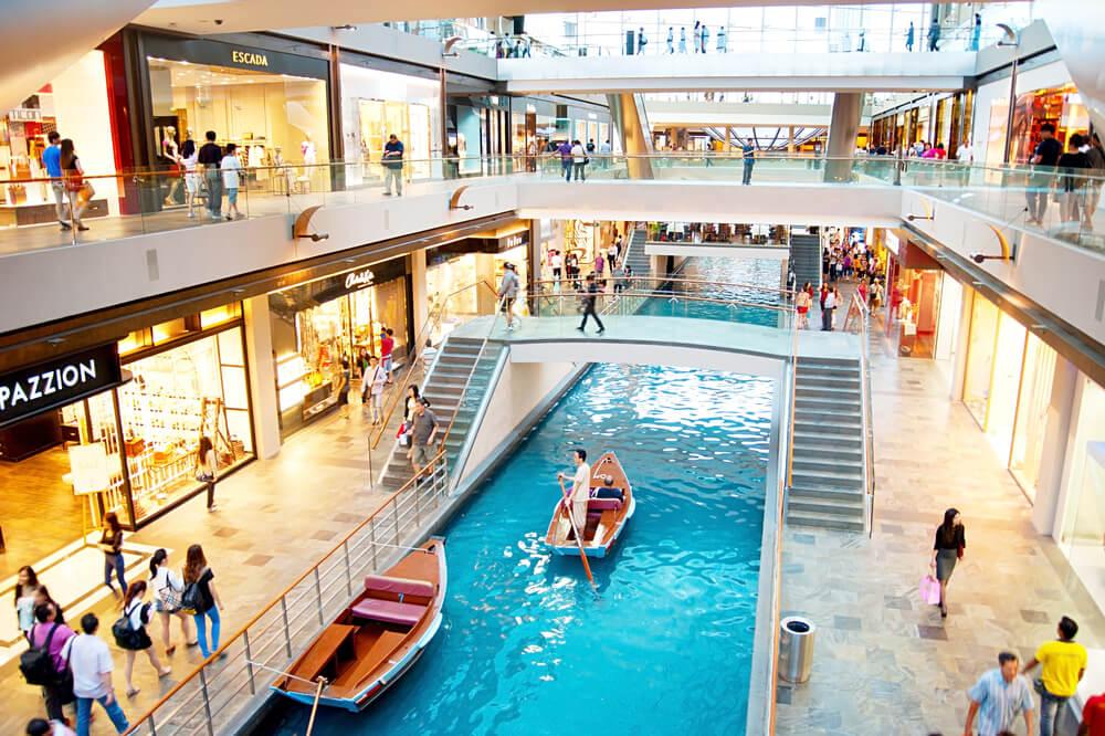 Centro Comercial del Marina Bay Sands