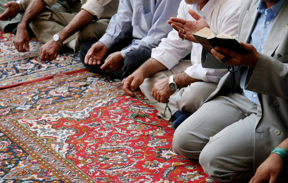 Chiitas orando