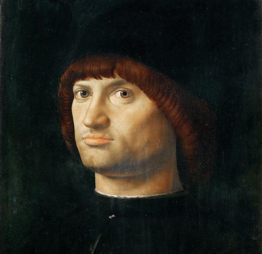 'El Condottiero' de Messina
