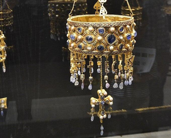 Corona de Recesvinto, uno de los reyes godos