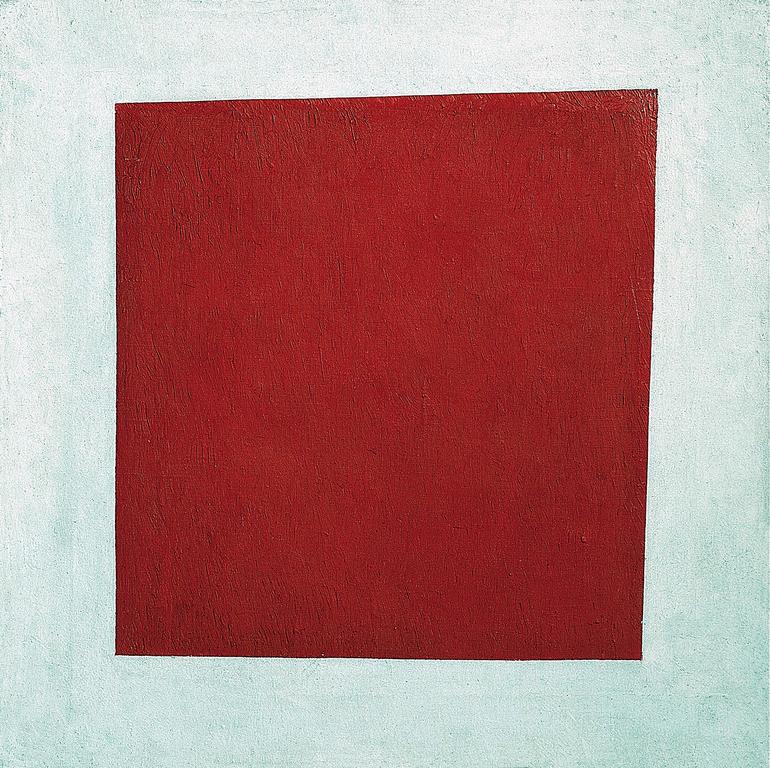 Cuadrado rojo de Malevich