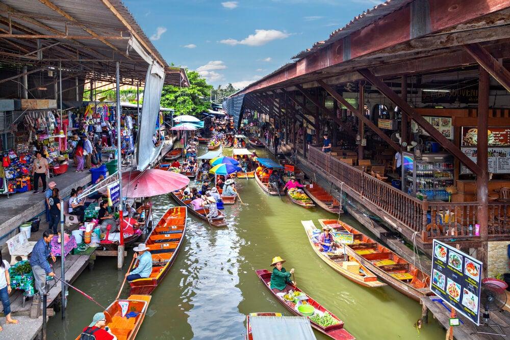 Mercado Damnoen Saduak