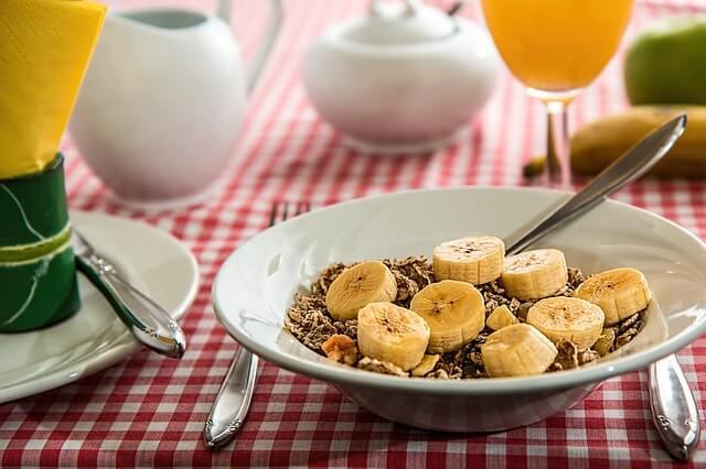 Desayuno para ahorrar durante un viaje