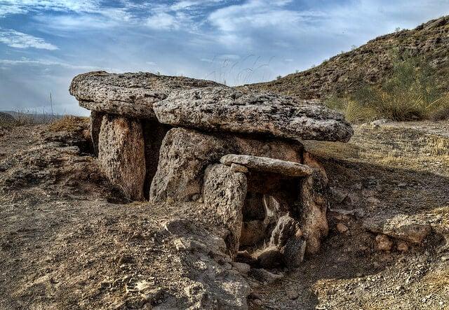 Dolmen 134 en el Parque Megalítico de Gorafe
