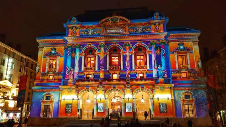 Vive la Fiesta de las Luces de Lyon en Francia