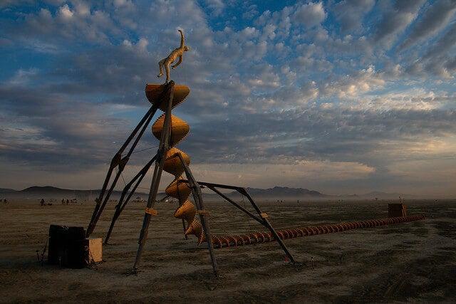 Figura del Festival Burning Man
