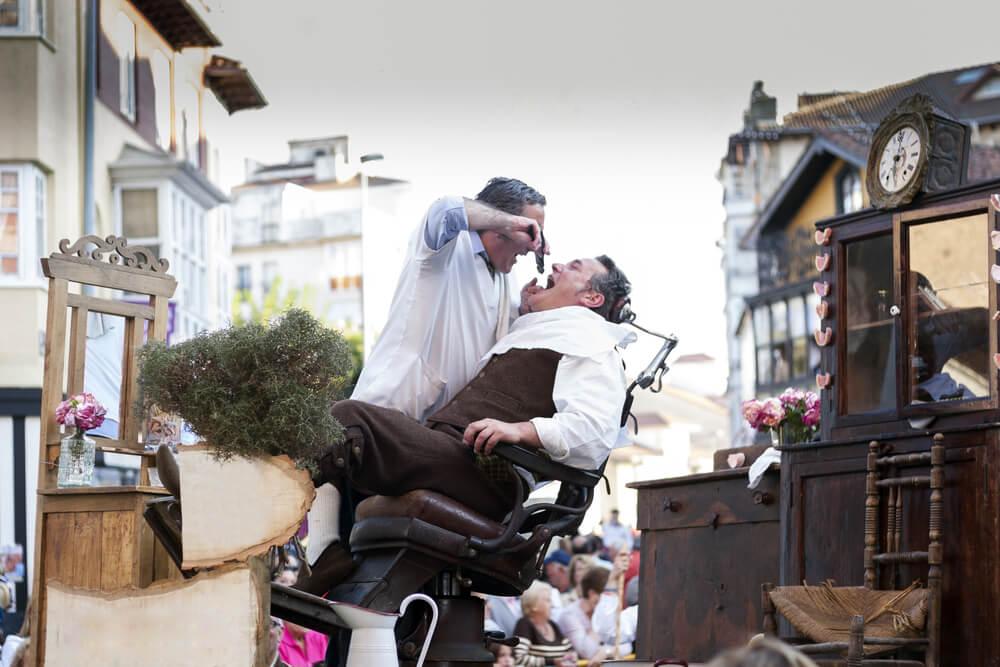 Representación del Festival de Teatro de Avignon