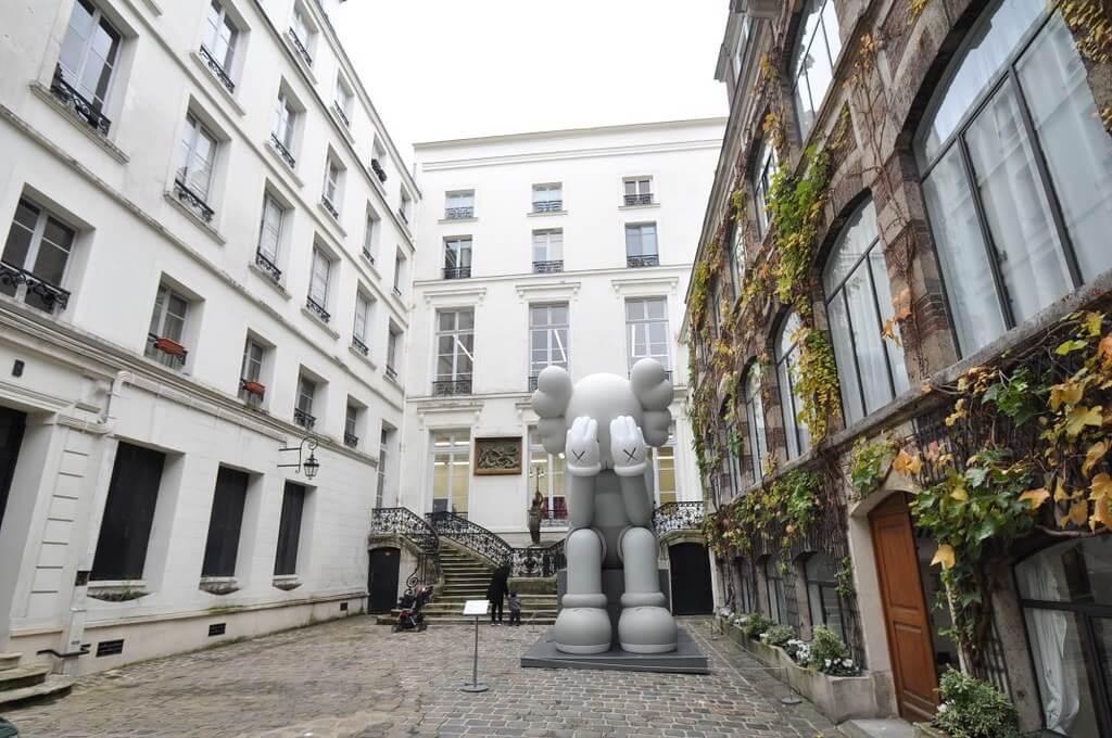 Galeria Perrotin en París, una de las galerías de arte más famosas