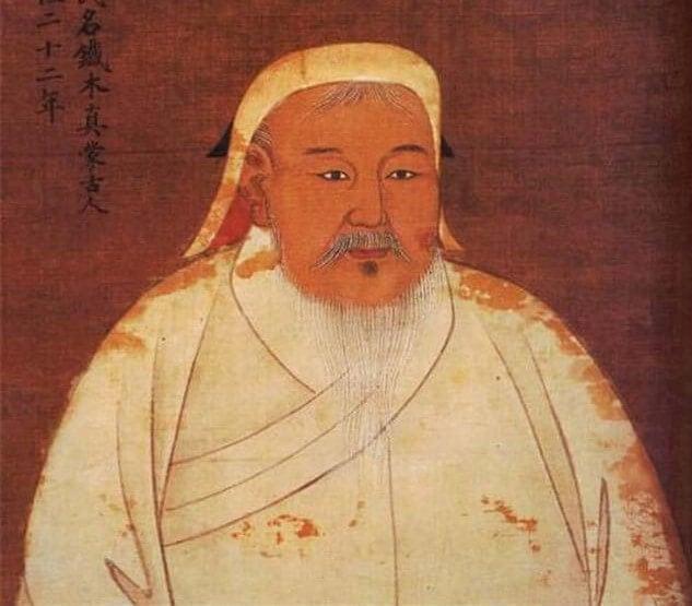 Pintura de Gengis Khan