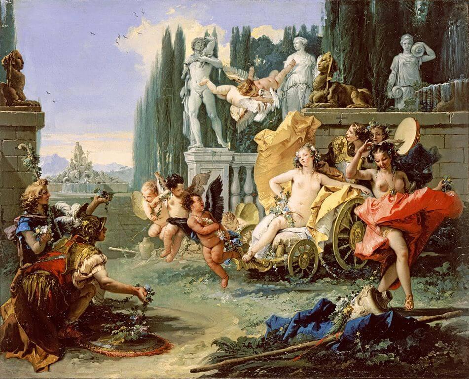 'El imperio de Flora' de Tiépolo