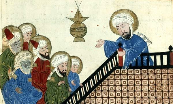 Ilustración de Mahoma