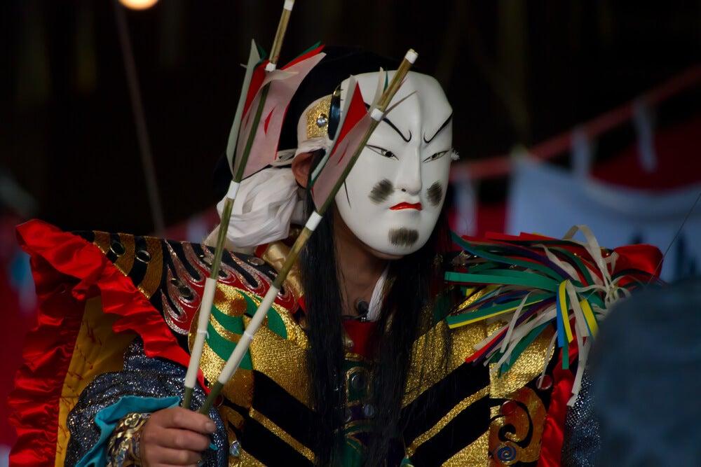 El significado de las máscaras japonesas