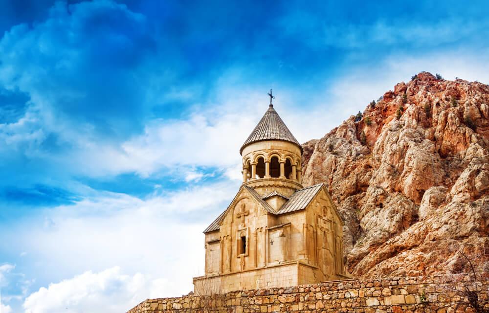 Monasterio Novaran, uno delos monasterios de Armenia