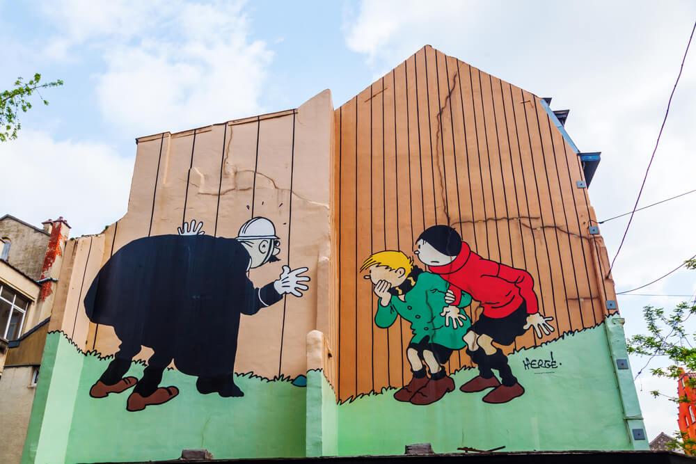 Murales en Bruselas