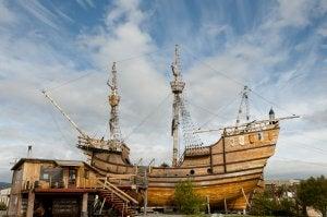 Réplica de la nave de Magallanes
