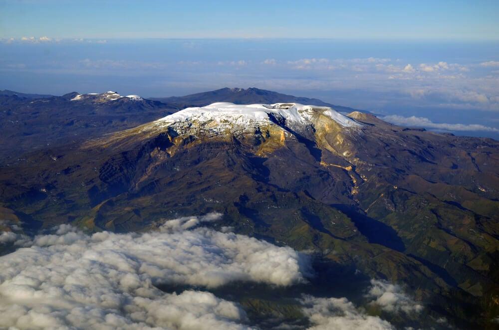 Vista del Nevado del Ruiz