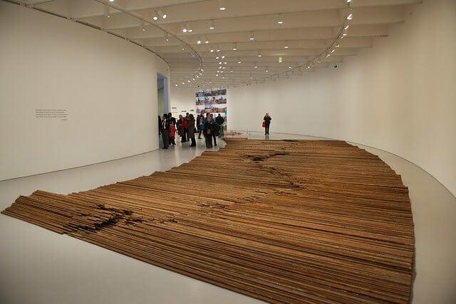 Obra de arte contemporáneo chino