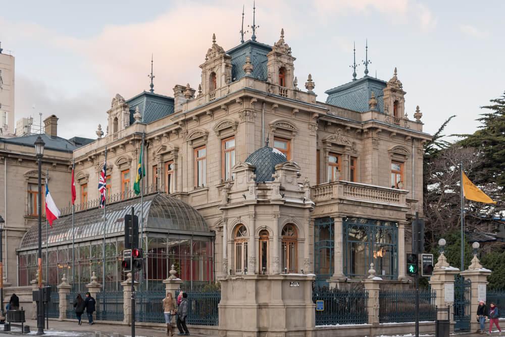 Palacio SaraBraunen la ciudad de Punta Arenas