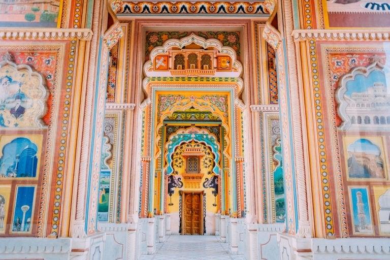 Patrika Gate, uno de los lugares más bellos de Jaipur