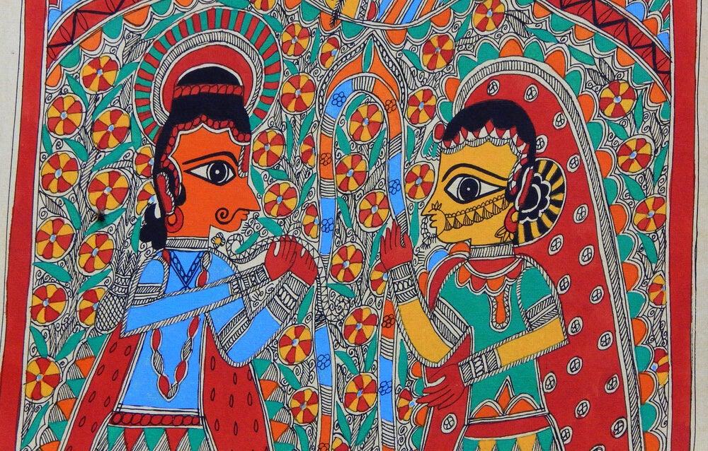 Pintura de Madhubani: un arte que expresa tradición
