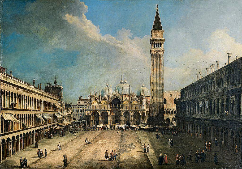 'Plaza de San Marcos' de Canaletto