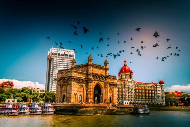 Organización del Imperio británico en la India