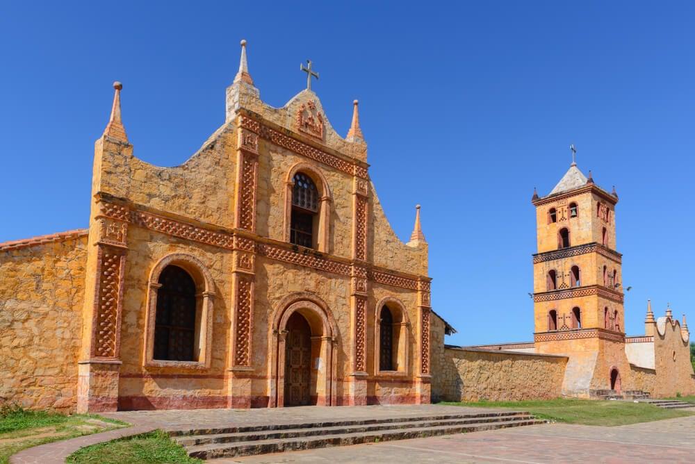 Misión en San José de Chiquitos en Bolivia