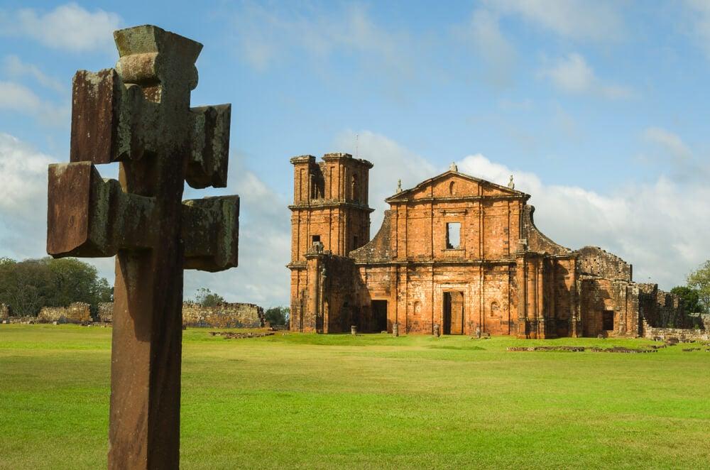Sao Miguel das missoes, una de las misiones jesuíticas en América